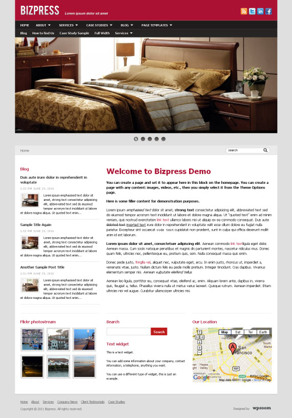 Bizpress WordPress Theme