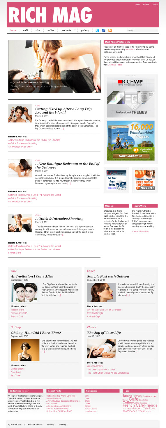 RichMAGAZINE WordPress Theme