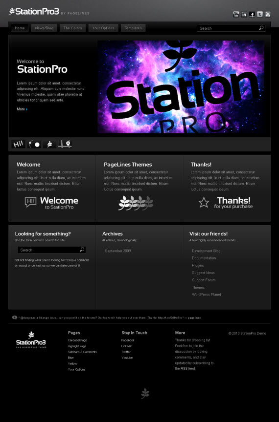StationPro3 Wrdpress Theme