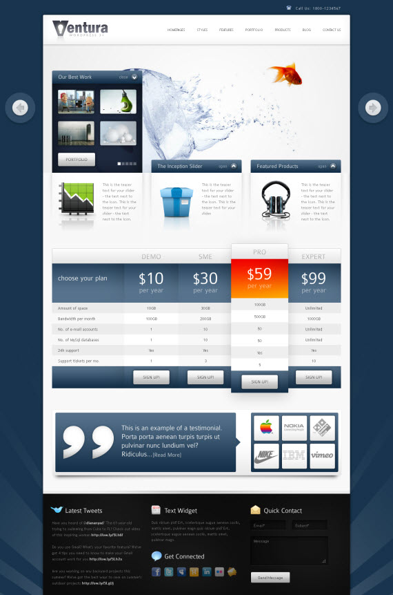 Ventura WordPress Theme
