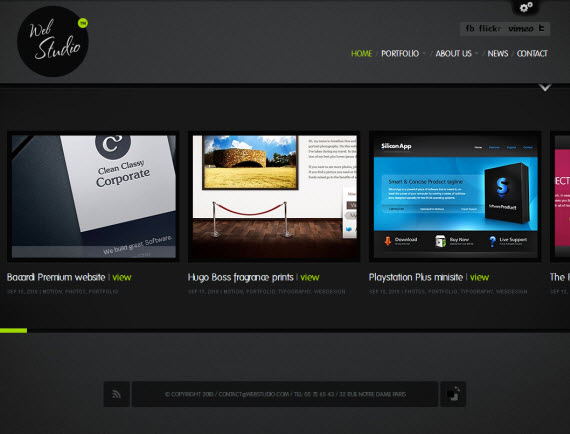 WebStudio WordPress Theme
