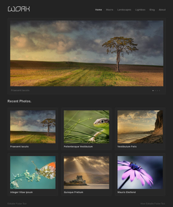 Work WordPress Theme