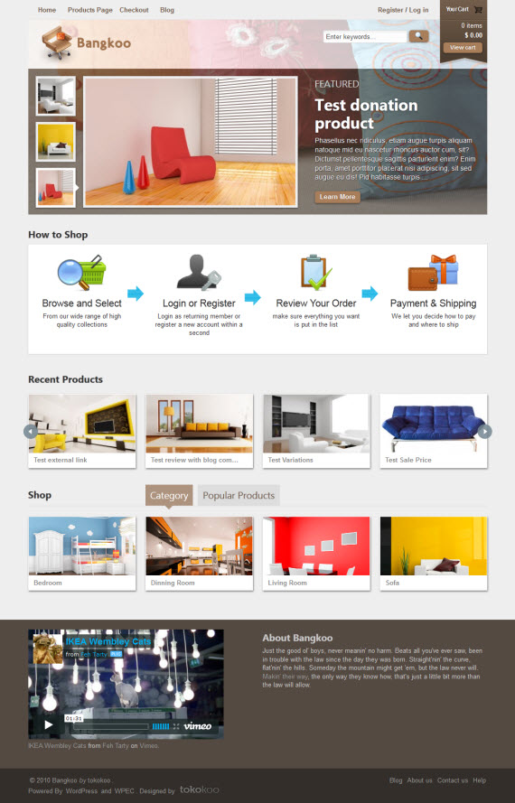 Bangkoo WordPress Theme