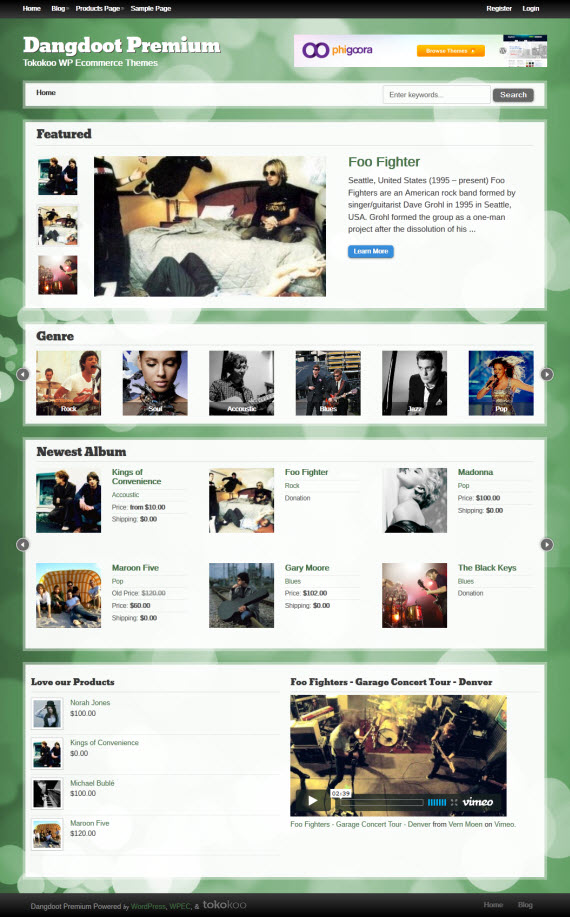 Dangdoot WordPress Theme