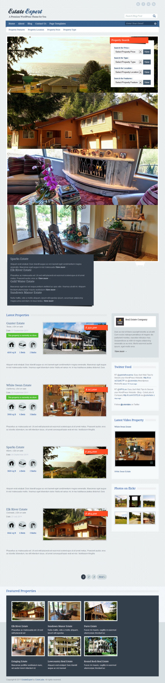 EstateExpert WordPress Theme