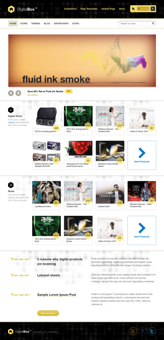 DigitalBox WordPress Theme