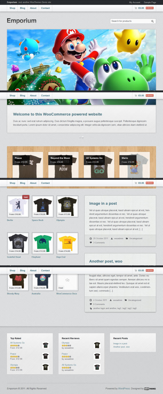 Emporium WordPress Theme