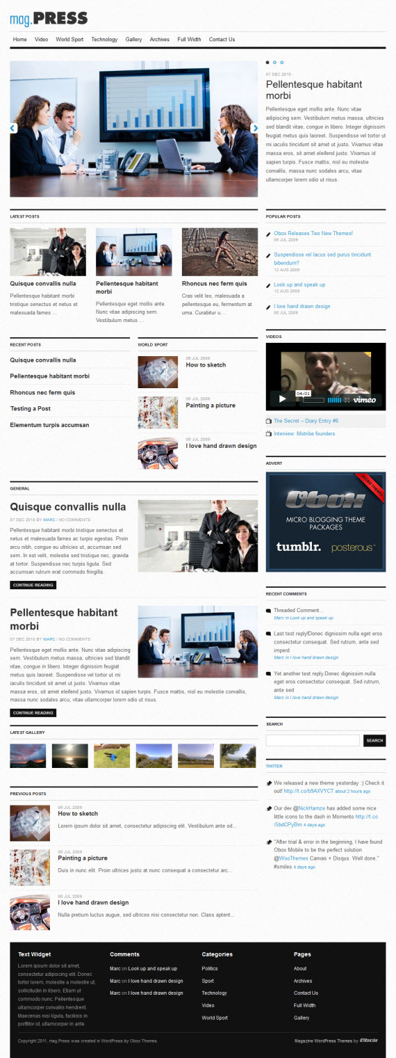 mag.Press WordPress Theme