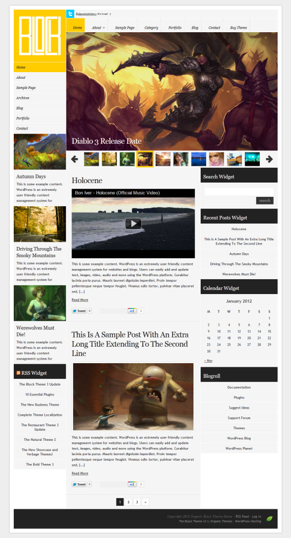 Block 3.0.5 WordPress Theme
