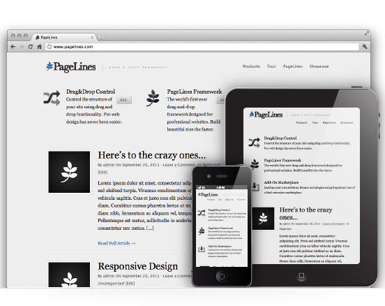 Pagelines 2.1 WordPress Theme Framework