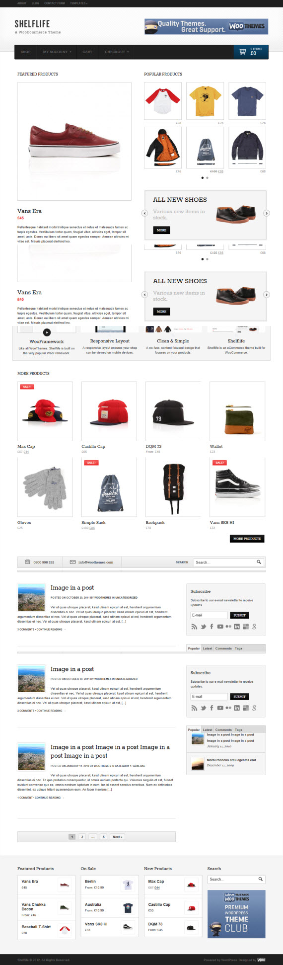 Shelflife WordPress Theme