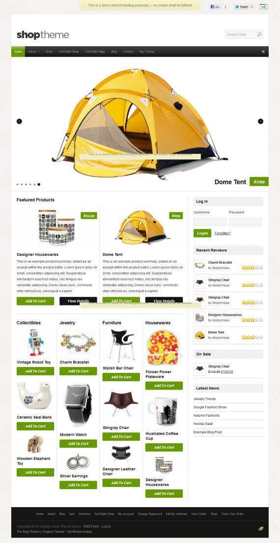 Shop WordPress Theme